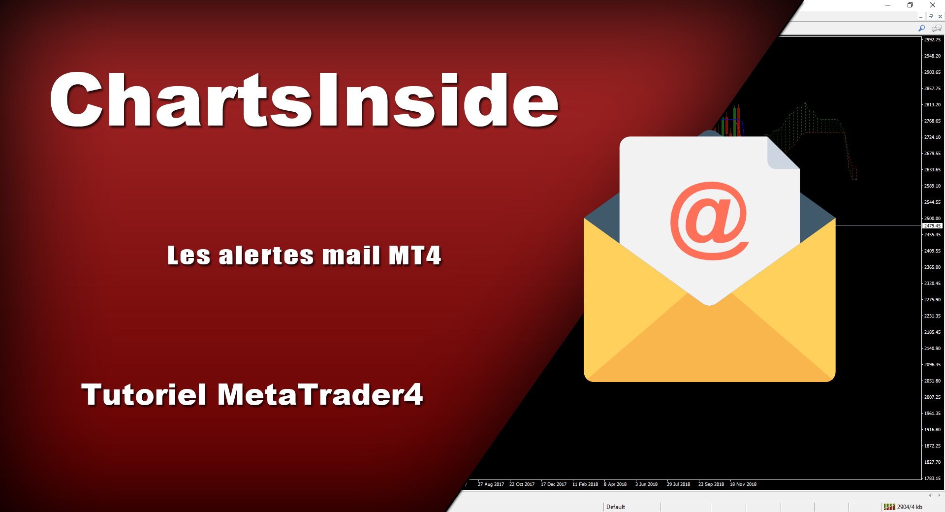 MT4 – Configurez vos alertes mail